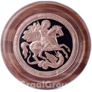 Панно-икона «Георгий Победоносец»